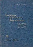 Probleme economice administrative pentru cadrele