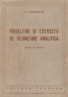 Probleme si exercitii de geometrie analitica (Traducere din limba rusa)