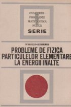 Probleme de fizica particulelor elementare la energii inalte