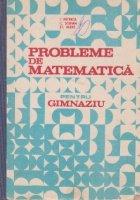 Probleme de matematica pentru gimnaziu
