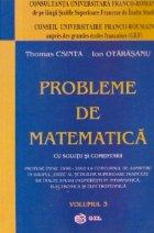 Probleme de matematica propuse la ESIEE (1998 - 2002), Volumul al III-lea
