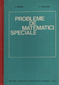 Probleme de matematici speciale (Rudner, Nicolescu)