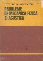 Probleme de mecanica fizica si acustica, Editia a II-a