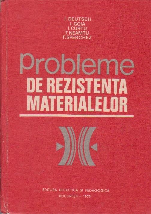 Probleme de Rezistenta Materialelor