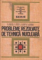 Probleme rezolvate de tehnica nucleara