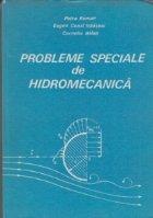 Probleme speciale hidromecanica