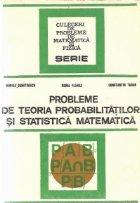 Probleme de teoria probabilitatilor si statistica matematica