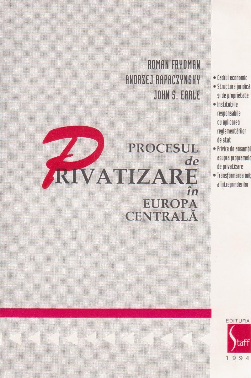 Procesul de privatizare in Europa Centrala