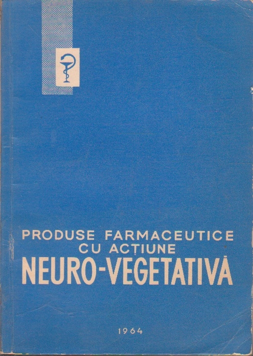 Produse farmaceutice cu actiune Neuro-Vegetativa