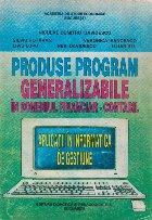 Produse program generalizabile in domeniul financiar-contabil