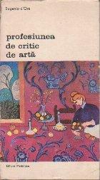Profesiunea de critic de arta