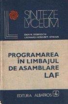 Programarea limbajul asamblare LAF
