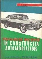 Progrese recente in constructia automobilelor