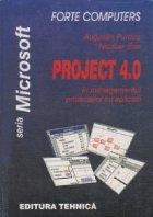 Project 4.0 in managementul proiectelor cu aplicatii