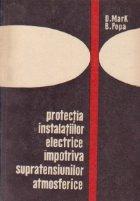 Protectia instalatiilor electrice impotriva supratensiunilor atmosferice