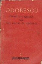 Pseudo-cynegeticos sau Fals tractat de vinatoare