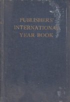 Publishers International Year Book - World Directory of Book Publishers