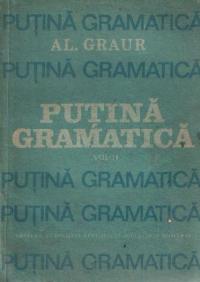 Putina Gramatica, Volumul al II-lea