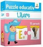 Puzzle educativ - Litere