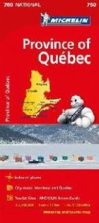 Quebec Michelin National Map 0760