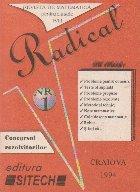 Radical, Nr. 1/1994 Revista de matematica pentru clasele I-VIII