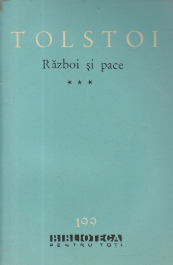 Razboi si pace, Volumul al III-lea