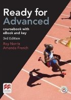 Ready for Advanced coursebook with eBook and key, 3rd Edition