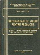 Recomandari de Soiuri pentru Productie