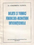 Relatii tehnici financiar monetare internationale