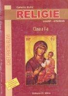 Religie crestin-ortodoxa, Clasa a V-a - Caiet pentru elevi