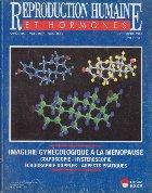 Reproduction humaine hormones Septembre 1997