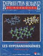 Reproduction humaine hormones Janvier 1998