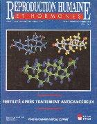 Reproduction humaine hormones Septembre Octobre
