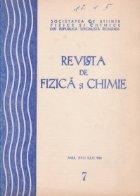 Revista fizica chimie Iulie 1981