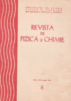 Revista de fizica si chimie, August 1980