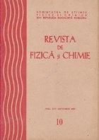Revista de fizica si chimie, Octombrie 1980