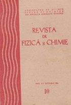 Revista de Fizica si Chimie, Octombrie 1984