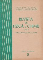 Revista de fizica si chimie, Septembrie 1972