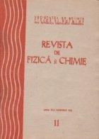 Revista de Fizica si Chimie, Noiembrie 1982