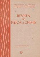 Revista de Fizica si Chimie, Octombrie 1986