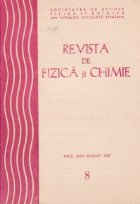 Revista de Fizica si Chimie, August 1987