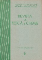 Revista de Fizica si Chimie, Septembrie 1987