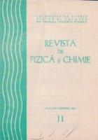 Revista de Fizica si Chimie, Noiembrie 1987