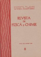 Revista de fizica si chimie, August 1988