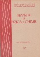 Revista de fizica si chimie, Octombrie 1988
