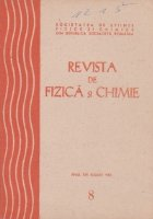 Revista Fizica Chimie August 1982