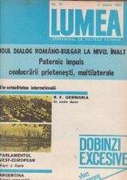 Revista Lumea, nr 1- 10/1983
