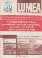 Revista Lumea 30/1984