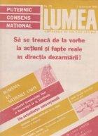 Revista Lumea 40/1986