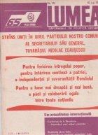 Revista Lumea 20/1986